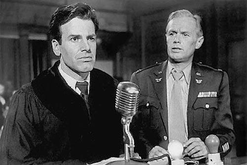 A scene from Judgment At Nuremburg