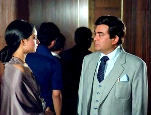 Rekha and Sanjeev Kumar in Silsila