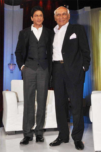 Shah Rukh Khan and Yash Chopra