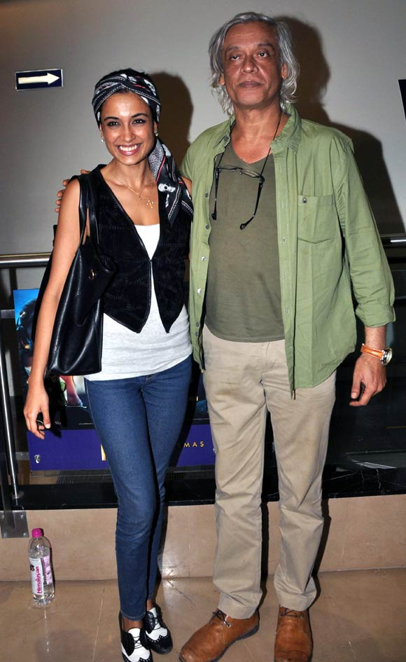 Sarah Jane Dias and Sudhir Mishra