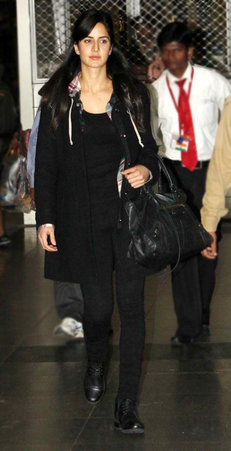 Pix Katrina Shah Rukh Ranbir Snapped At The Airport