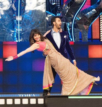 Anushka Sharma and Ranbir Kapoor