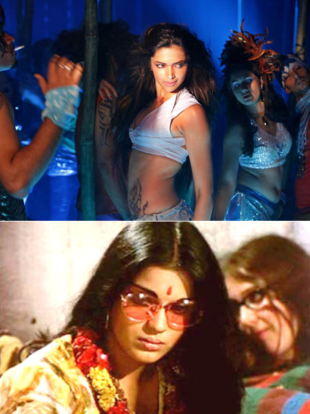 Title song from Dum Maaro Dum and Hare Ram Hare Krishna