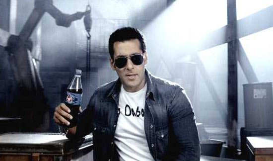 Salman Khan  in Thums Up ad
