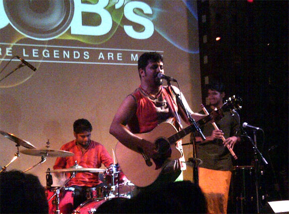 Raghu Dixit performing in New York
