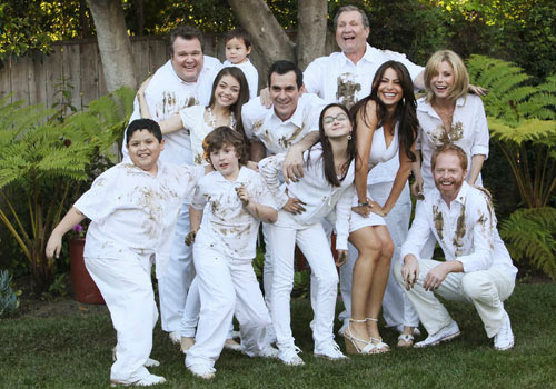The entire cast of Modern Family
