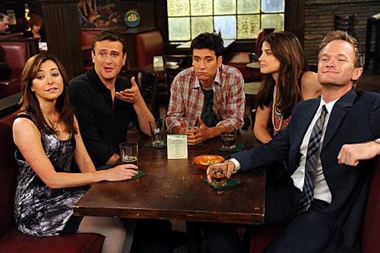 Alyson Hannigan, Jason Segal, Josh Radnor, Cobie Smulders and Neil Patrick Harris in How I Met Your Mother