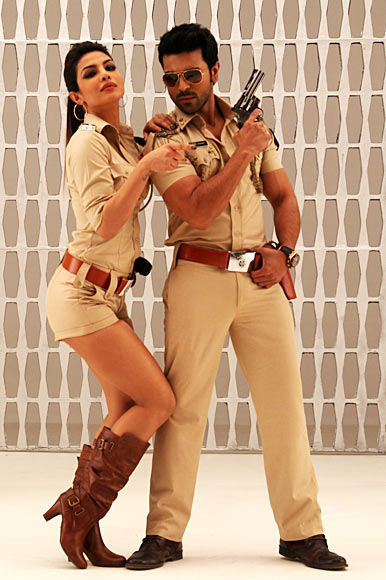 Priyanka Chopra and Ram Charan Teja in Zanjeer