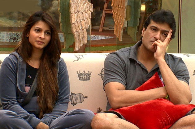 Tanisha and Armaan Kohli in Bigg Boss 7