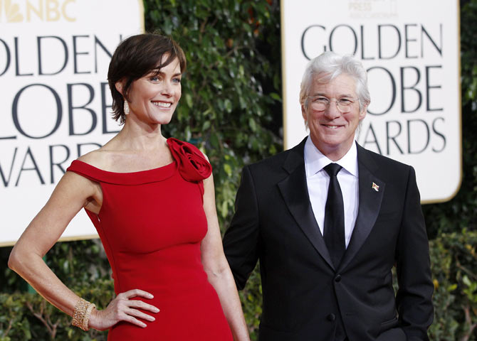 Richard Gere and Carrie Lowell