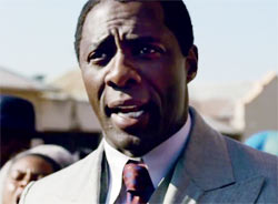 Idris Elba as Nelson Mandela in Long Walk To Freedom