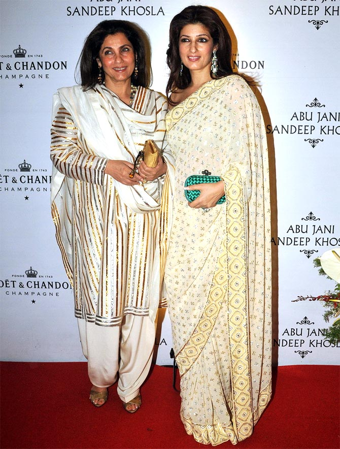 Dimple Kapadia with daughter Twinkle Khanna