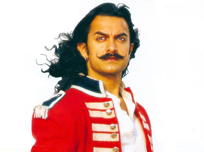 Aamir Khan in Mangal Pandey: The Rising