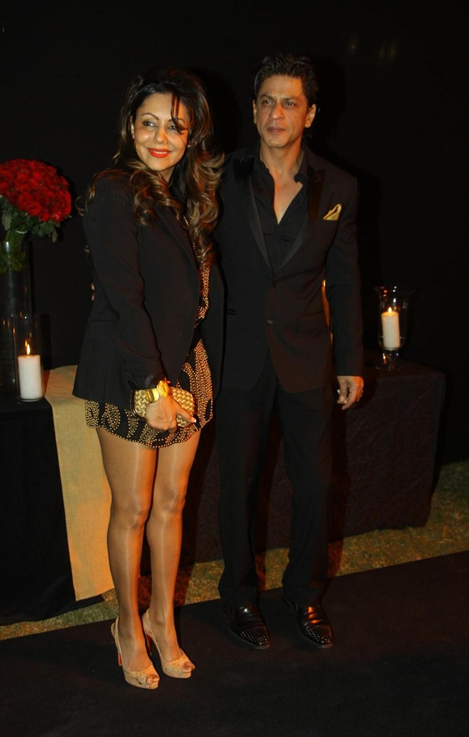 Gauri and Shah Rukh Khan