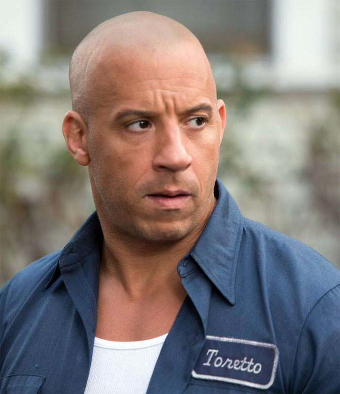 Vin Diesel in Fast and The Furious