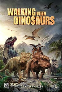 Movie poster of Walking With Dinosaurs
