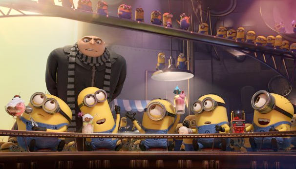 A scene from Despicable Me 2