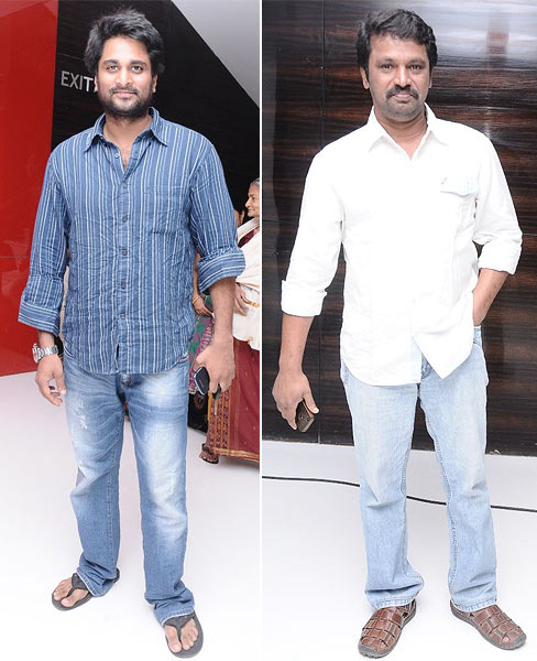 Richard Rishi and Cheran