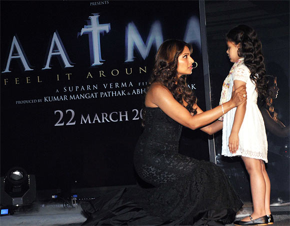 Bipasha Basu and Doyel Dhawan perform a scene from the film