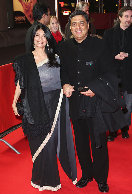 Zarina Mehta and Ronnie Screwvala