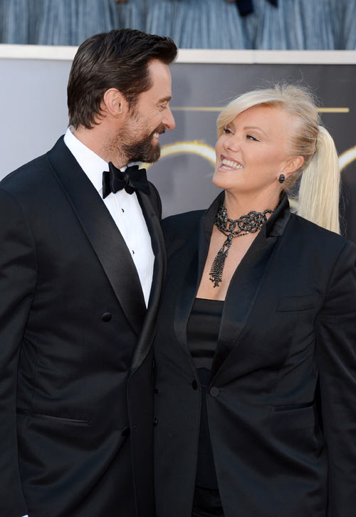 Hugh Jackman and wife Deborra-Lee Furness