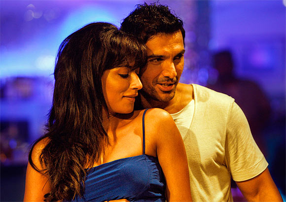 John Abraham and Chitrangada Singh in I Me Aur Main
