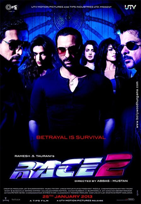 Movie poster of Race 2