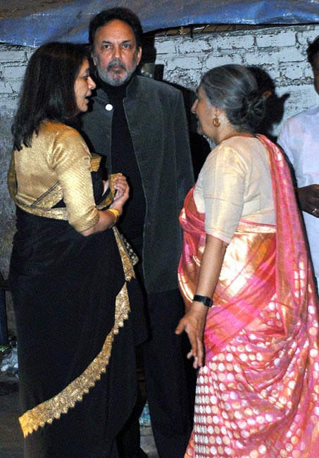 Prannoy Roy and Subhashini Ali