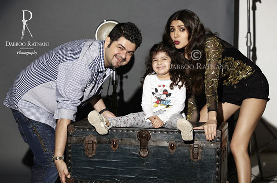 Dabboo Ratnani, Myrah and Anushka Sharma