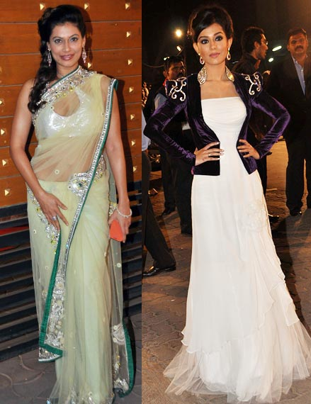 Payal Rohatgi and Amrita Rao
