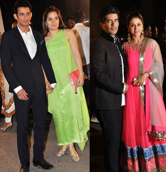 Sharman Joshi, Prerna Chopra, Manish Malhotra and Urmila Matondkar