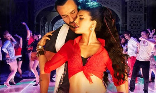 Saif Ali Khan and Jacqueline Fernandes in Race 2