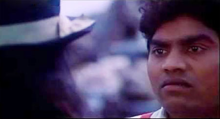 Johnny Lever in Baazigar