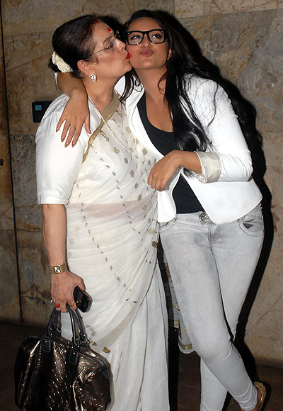 Poonam and Sonakshi Sinha