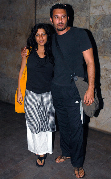 Zoya Akhtar and Homi Adajania
