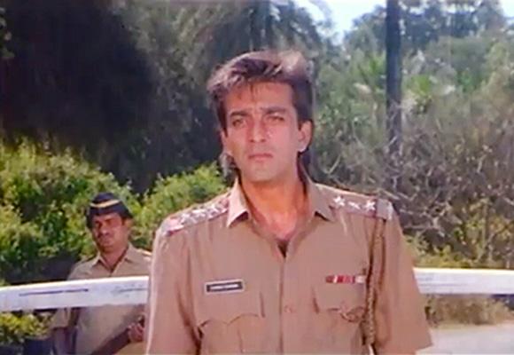PIX: Sanjay Dutt's Policegiri roles - Rediff.com Movies