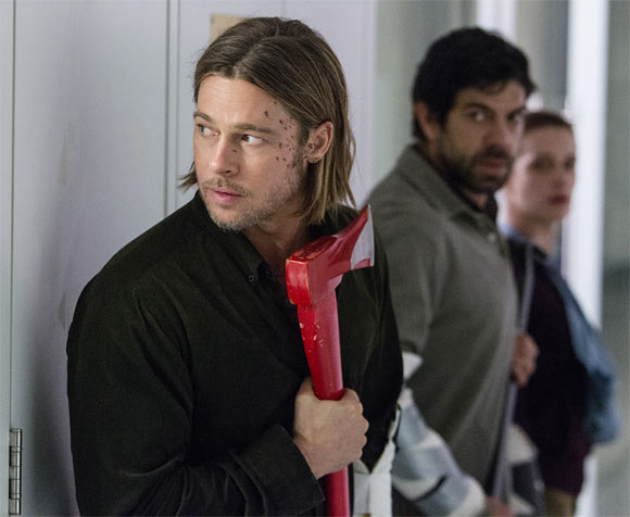 Bard Pitt in World War Z