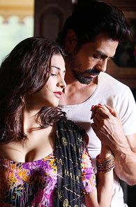 Shruti Haasan and Arjun Rampal in D-Day