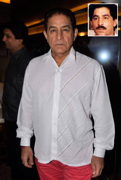 Dalip Tahil. Inset: As Kulbhushan in Buniyaad