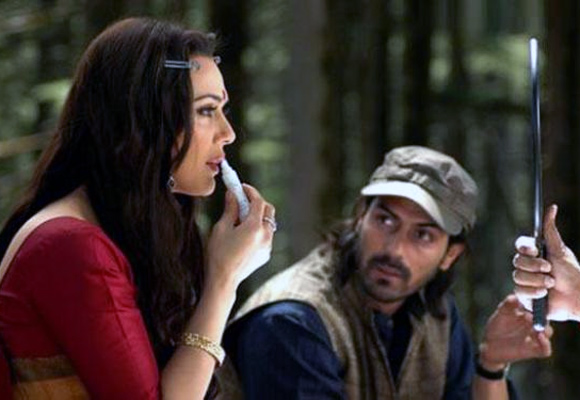 Preity Zinta and Arjun Rampal in The Last Lear