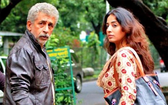 Naseeruddin Shah and Mahie Gill in Michael