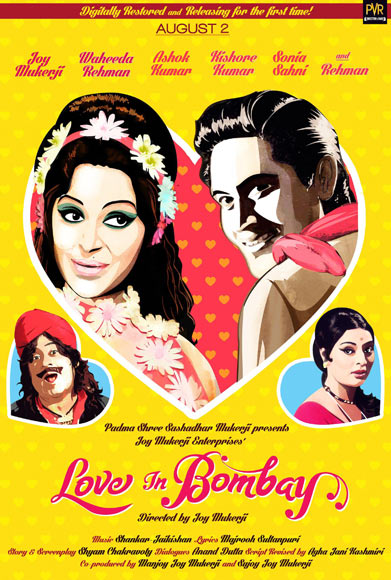 The Love In Bombay poster