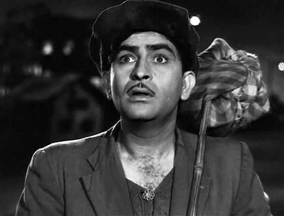 Raj Kapoor in Shree 420