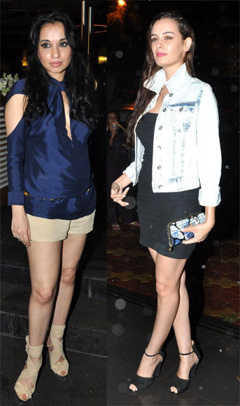 Sheetal Mafatlal and Evelyn Sharma