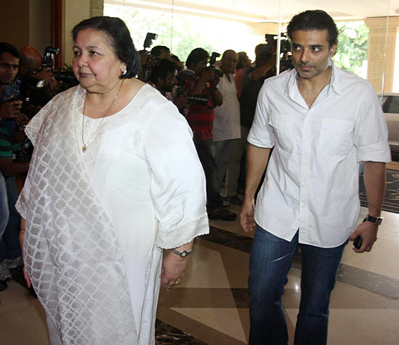 Uday and Pamela Chopra