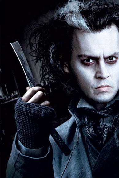 Johnny Depp in Sweeney Todd: The Demon Barber of Fleet Street