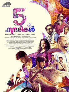 Movie poster of 5 Sundarikal