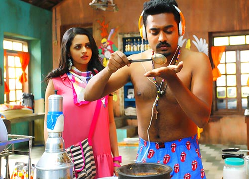 First Look Asif Ali And Bhavana In Honey Bee Rediff Com Movies