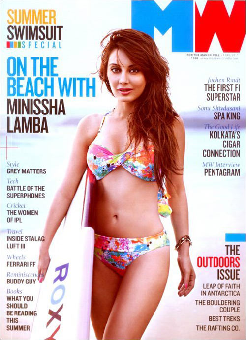 Minissha Lamba, Man's World