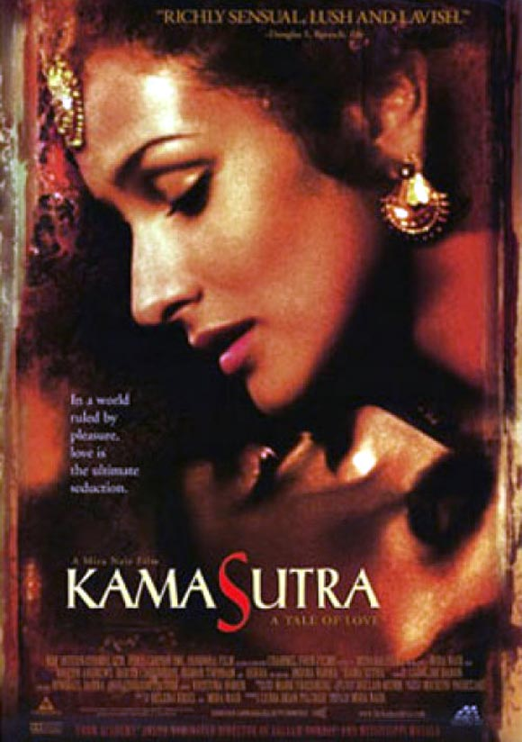 Movie poster of Kama Sutra: A Tale of Love